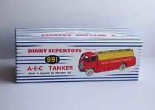 DINKY Reproduction Box 991/591 AEC Tanker 'Shell Chemicals Limited'  Repro