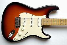 USA Fender American Stratocaster 1993 Electric Guitar 40th Anniv. Sunburst w/HSC