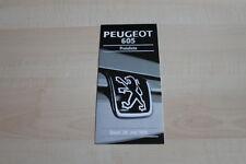 138013) Peugeot 605 - Preise & Extras - Prospekt 06/1995