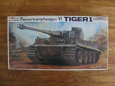 Bandai 1/15 Motorized Remote Control German Tiger I Tank #535403 NIB