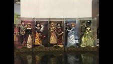Disney Store Fairytale Designer Dolls Collection All 5 LE  /6000