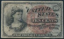 Fr1259 10¢ 4Th Issue Fractional Currency Au Br5573