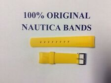NAUTICA REPLACEMENT BAND 100% ORIGINAL YELLOW 22m N14536 N14555 N19508 N17526