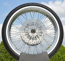 WPS 21 x 3.5 60 Spoke Front Wheel 120/70 WWW Tire Package 00-07 Harley Touring