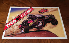 "Tyco R/C 9.6v Turbo BANDIT large 24"" poster print rc remote control baja truck"