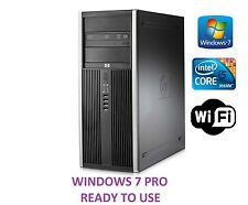 HP Elite 8200 Tower PC Computer 320 GB, Intel Core i5, 3.10 GHz 4GB Windows 7