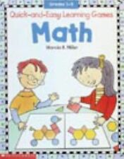 Quick-and-Easy Learning Games: Math (Grades 1-3)