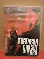 Robinson Crusoe on Mars DVD The Criterion Collection BRAND NEW Rare