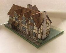 SHAKESPEARE'S BIRTHPLACE CARD CUT OUT MODEL BY THE PRODUCERS OF MICROMODELS