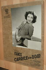 KAY FRANCIS COMET OVER BROADWAY BUSBY BERKELEY 1938 VINTAGE LOBBY CARD #4
