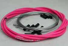 JAGWIRE SHIFTER GEAR DERAILLEUR HOSE HOUSING CABLE KIT MTB ROAD SHIMANO PINK