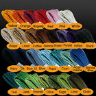 WAXED COTTON CORD - 17 COLOURS - 10 Mtrs 1mm Jewellery / Shamballa Cord