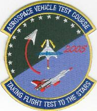Test Pilot School AVTS Course - Aerospace Vehicle Test BC Patch Cat. No. C6479