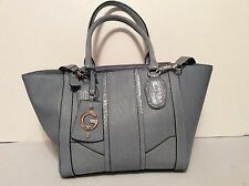 Large GUESS Slate Blue/ Light Blue Purse/Handbag