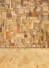 Photo Backdrops Children Chic Wooden Floor Photography Background Vinyl 5x7FT
