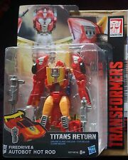 Transformers Generations Titans Return Hot Rod Deluxe Class
