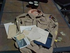 WWII 7TH AIR FORCE GROUPING - WINGS, HISTORY, DOG TAGS ETC - 11TH BOMB GROUP