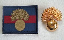 British Army Grenadier Guards Cap Badge/Unit ID UBACS Velcro Patch