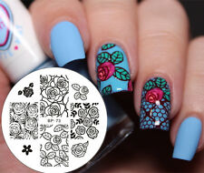 Nail Art Stamping Schablonen Stamp Image Plate BORN PRETTY BP73