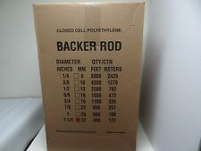 """1 1/4"""" Closed Cell Foam Backer Rod - 400 Ft. - Expansion Joint"""
