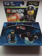 BNIP LEGO 71213 DIMENSIONS BAD COP-62 PCS!!!