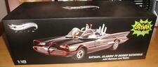 1/18 Hot Wheels Elite 1966 TV BATMOBILE with BATMAN and ROBIN FIGURES Adam West