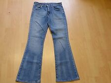 X597 femme LEVI STRAUSS 525 bootcut stretch bluejeans uk 12 W30 L32