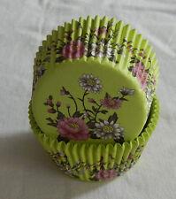 50 pcs CK140 - Lotus flower cupcake liner baking paper cup muffin cases
