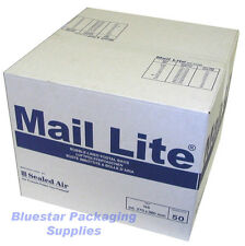 50 Mail Lite White C/0 JL0 Padded Envelopes 150 x 210mm