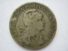 Portugal 1931 copper nickel 1 Escudo F