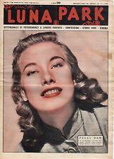 rivista fotoromanzo - LUNA PARK - Anno 1953 Numero 38 PEGGY DOW