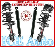 FCS Complete FRONT Loaded Struts & KYB REAR Shocks fits 2007 - 2013 Acura MDX