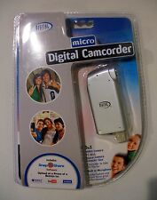 MICRO DIGITAL CAMCORDER SNAP N SHARE SOFTWARE CD INCLUDED UPLOAD PHOTOS + VIDEOS