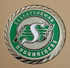 "CFL SASKATCHEWAN ROUGHRIDERS 1-3/4"" CHALLENGE COIN"