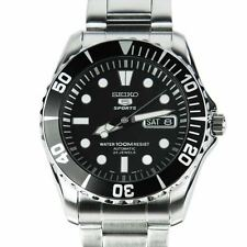 Seiko Sport 5 SPORTS Mens Analog Silver Watch SNZF17K1