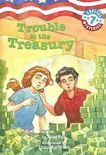 Capital Mysteries #7: Trouble at the Treasury (A Stepping Stone Book(TM)), Roy,