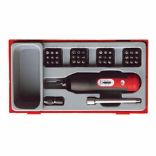 TENG TOOLS 30 PIECE TORQUE SCREWDRIVER & BIT SET + CASE