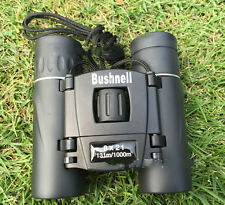 Bushnell Powerview 8x21 Compact Folding Roof Prism Binoculars Black for Hunting