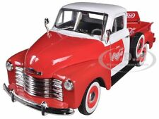 1953 CHEVROLET PICKUP COCA COLA WITH COOLER 1:32 BY MOTORCITY CLASSICS 440664