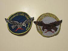 b5359 Vietnam RVNAirborne Ranger BDQH Can Dam De Chien Thang patch IR10A