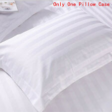 1pcs Cotton White Stripe Home&Hotel Standard Pillowcases Pillow Covers Bedding