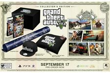 Grand Theft Auto V: Collector's Edition (Playstation 3 PS3 Five Adventure) NEW