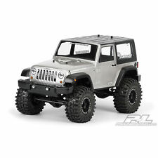 Proline 2009 Jeep Wrangler Bodyshell (Unpainted) For 1/10 Crawlers W/Bumpers - P