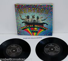 "THE BEATLES MAGICAL MYSTERY TOUR EP 7"" VINYL+BOOK+LYRIC 1967 UK PRESSING N.MINT"