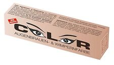 Color Wimpernfarbe Augenbrauenfarbe Farbe naturbraun 15ml Wimpern-Färbung
