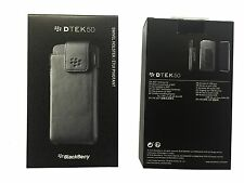 NEW BlackBerry DTEK50 Black Swivel Holster Pouch Case with Belt Clip in Retail