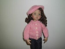 "DARLING  SWEATER & TAM FOR 13"" EFFNER LITTLE DARLING  NO DOLL"