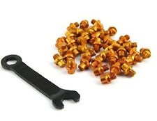 Wellgo Bike Pedals Aluminum alloy Replacement Pins - Orange