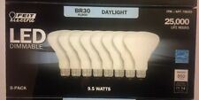 8 Feit Electric BR30 LED Dimmable 65W Daylight��Ships FREE In USA Natural Light