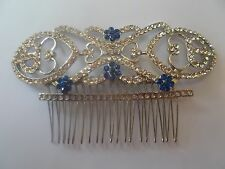 H023 Victorian Art Deco Nouveau Hair Comb Bridal Wedding LUX Large Bella